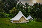 Luxury Lake Side Bell Tent Glamping near Chester
