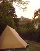 Ave Natura Camping in the green belt of Budapest